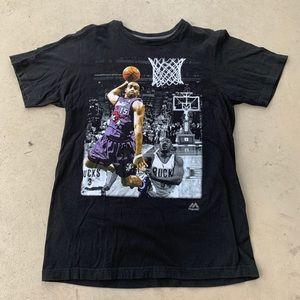 Vince Carter Raptors Graphic Dunking Basketball M